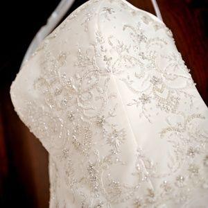 Oleg Cassini Wedding Gown, Size 8